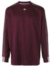 Alexander Wang | Purple Soccer Long Sleeved T-shirt for Men | Lyst