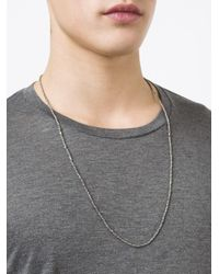M. Cohen - Multicolor 'imperial Cornerless' Necklace for Men - Lyst
