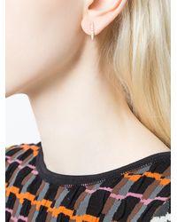 Anita Ko - Multicolor Line Stud Earrings - Lyst