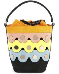 Pierre Hardy - Yellow Penny Lace Bucket Bag - Lyst