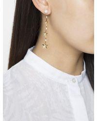 Delfina Delettrez - Metallic Star Cascade Earring - Lyst