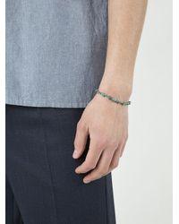 M. Cohen - Blue Beaded Bracelet for Men - Lyst