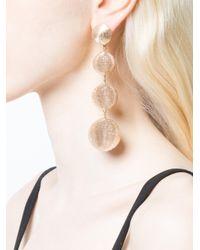 Rebecca de Ravenel - Natural 'india' 4 Drop Solid Earring - Lyst