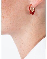 Aurelie Bidermann - Multicolor Ana Small Hoop Earrings - Lyst
