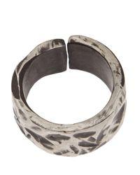 Henson - Multicolor Carved Split Ring - Lyst