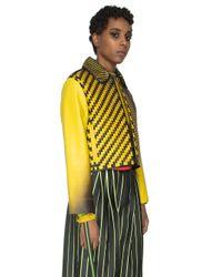 Martina Spetlova   Yellow Air-brushed Jacket   Lyst