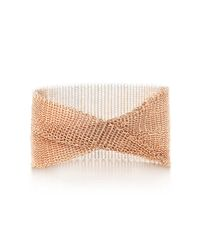 Tiffany & Co. - Multicolor Mesh Wide Bracelet - Lyst