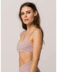 Tavik - Purple Leni Bikini Top - Lyst