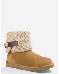 Ugg - Brown Shaina Womens Boots - Lyst