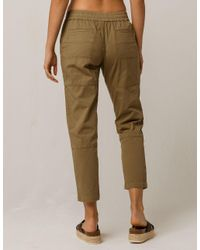 Rip Curl - Green Downtown Womens Pants - Lyst