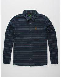 Hippy Tree | Blue Vista Mens Shirt for Men | Lyst