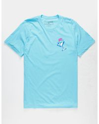 Pink Dolphin - Blue Cocktail Mens T-shirt for Men - Lyst