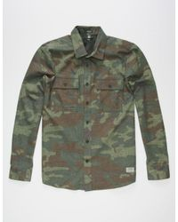 Volcom - Green Woodland Mens Shirt for Men - Lyst