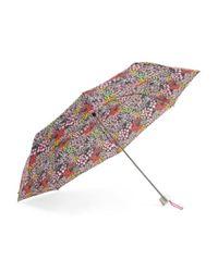 Tj Maxx - Multicolor Floral Telescopic Manual Umbrella - Lyst