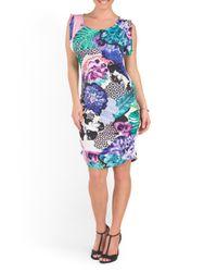 Tj Maxx - Blue Australian Designer Persian Night Printed Dress - Lyst