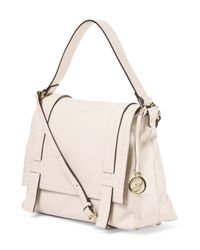 Tj Maxx - Natural Made In Italy Leather Messenger - Lyst