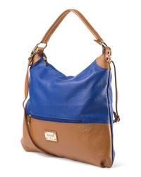 Tj Maxx - Blue Made In Italy Leather Hobo - Lyst