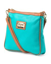 Tj Maxx - Blue Made In Italy Leather Crossbody - Lyst