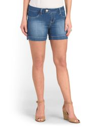 Tj Maxx - Blue Extend Tab Short - Lyst