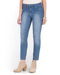Tj Maxx - Blue Ankle Skinny Jean - Lyst