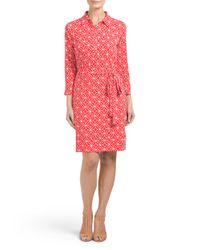 Tj Maxx - Multicolor Collared Shirt Dress - Lyst