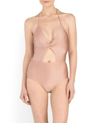 Tj Maxx - Pink Divine One-piece Swimsuit - Lyst