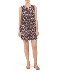 Tj Maxx - Multicolor Printed Romper With Pockets - Lyst
