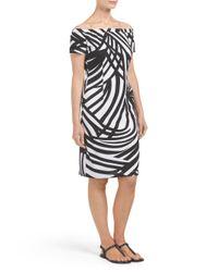 Tj Maxx - Black Off The Shoulder Dress - Lyst