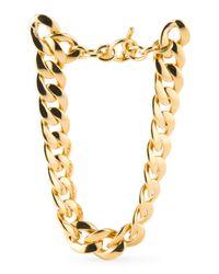 Tj Maxx - Metallic Curb Link Gold Tone Necklace - Lyst