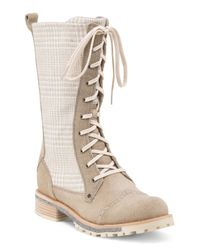 Tj Maxx - Natural Sante Fe Lace Up Riding Boot - Lyst