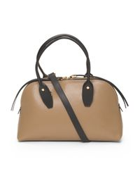 Tj Maxx - Natural Made In Italy Leather Small Bugatti Satchel - Lyst
