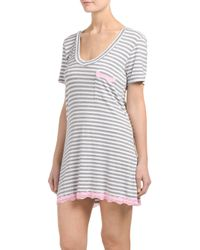 Tj Maxx - White All American Nightshirt - Lyst