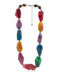 Tj Maxx - Multicolor Sterling Silver Necklace - Lyst