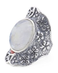 Tj Maxx - Multicolor Made In Israel Sterling Silver Stone Knuckle Ring - Lyst