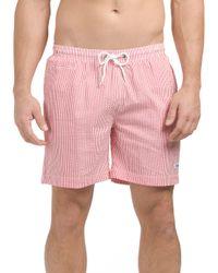 Tj Maxx - Red Striped San O Swim Short for Men - Lyst