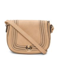 Tj Maxx - Natural Saddle Bag - Lyst