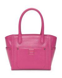 Tj Maxx - Pink Leather Valerie Satchel - Lyst