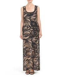 Tj Maxx - Multicolor Made In Usa Tropical Illusion Maxi Dress - Lyst