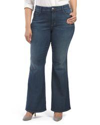 Tj Maxx - Blue Plus Made In Usa Farrah Flare Jean - Lyst