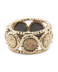 Tj Maxx - Metallic Made In Italy 14k Gold And Gold Drusy Ring - Lyst