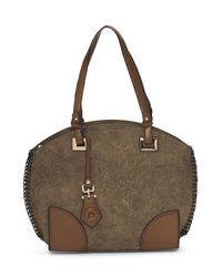 Tj Maxx | Brown Distressed Satchel | Lyst