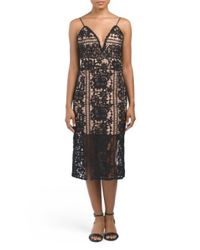 Tj Maxx - Black Jade Lace Dress - Lyst