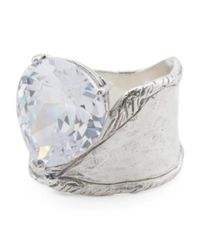 Tj Maxx - Metallic Made In Israel Sterling Silver Cubic Zirconia Ring - Lyst