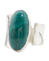 Tj Maxx - Multicolor Made In India Sterling Silver Gemstone Spoon Ring - Lyst