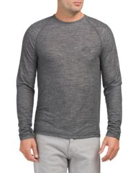 Tj Maxx - Gray Lightweight Super Soft Thermal Shirt for Men - Lyst