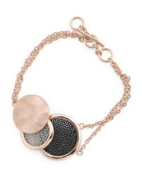 Tj Maxx - Metallic Made In Bali Sterling Silver And Mesh Multi Circle Bracelet - Lyst