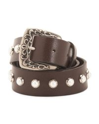 Tj Maxx - Brown Women's Made In Italy Leather Belt - Lyst