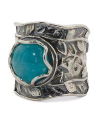 Tj Maxx - Multicolor Made In Israel Sterling Silver Blue Jade Ring - Lyst