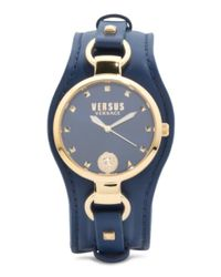 Tj Maxx - Metallic Women's Roslyn Leather Cuff Strap Watch - Lyst