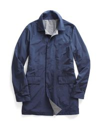 Todd Snyder - Blue Reversible Trench for Men - Lyst